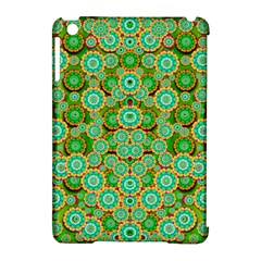Flowers In Mind In Happy Soft Summer Time Apple Ipad Mini Hardshell Case (compatible With Smart Cover) by pepitasart