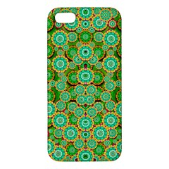 Flowers In Mind In Happy Soft Summer Time Apple Iphone 5 Premium Hardshell Case by pepitasart