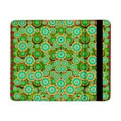 Flowers In Mind In Happy Soft Summer Time Samsung Galaxy Tab Pro 8 4  Flip Case by pepitasart
