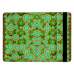 Flowers In Mind In Happy Soft Summer Time Samsung Galaxy Tab Pro 12 2  Flip Case by pepitasart