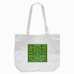 Flowers In Mind In Happy Soft Summer Time Tote Bag (white) by pepitasart