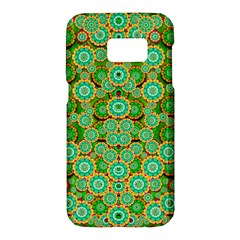 Flowers In Mind In Happy Soft Summer Time Samsung Galaxy S7 Hardshell Case  by pepitasart