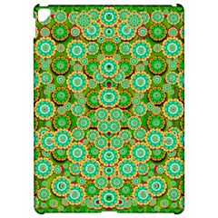 Flowers In Mind In Happy Soft Summer Time Apple iPad Pro 12.9   Hardshell Case by pepitasart