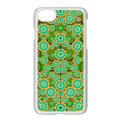 Flowers In Mind In Happy Soft Summer Time Apple Iphone 7 Seamless Case (white) by pepitasart