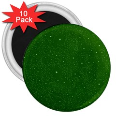 Awesome Allover Stars 01d 3  Magnets (10 Pack)  by MoreColorsinLife