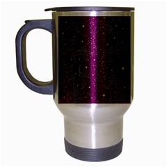 Awesome Allover Stars 01e Travel Mug (silver Gray) by MoreColorsinLife