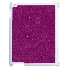 Awesome Allover Stars 01e Apple Ipad 2 Case (white) by MoreColorsinLife
