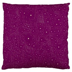 Awesome Allover Stars 01e Large Cushion Case (one Side) by MoreColorsinLife