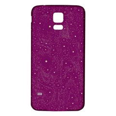 Awesome Allover Stars 01e Samsung Galaxy S5 Back Case (white) by MoreColorsinLife