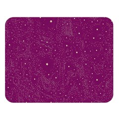 Awesome Allover Stars 01e Double Sided Flano Blanket (large)  by MoreColorsinLife