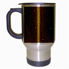 Awesome Allover Stars 01c Travel Mug (silver Gray) by MoreColorsinLife