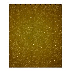 Awesome Allover Stars 01c Shower Curtain 60  X 72  (medium)  by MoreColorsinLife