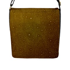 Awesome Allover Stars 01c Flap Messenger Bag (l)  by MoreColorsinLife