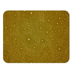 Awesome Allover Stars 01c Double Sided Flano Blanket (large)  by MoreColorsinLife