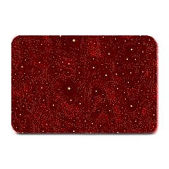 Awesome Allover Stars 01a Plate Mats by MoreColorsinLife