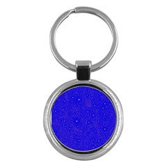 Awesome Allover Stars 01f Key Chains (round)  by MoreColorsinLife