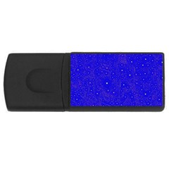Awesome Allover Stars 01f USB Flash Drive Rectangular (2 GB)
