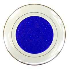 Awesome Allover Stars 01f Porcelain Plates by MoreColorsinLife