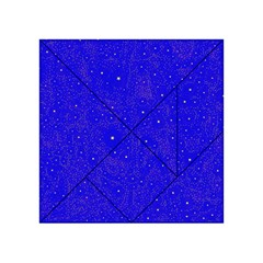 Awesome Allover Stars 01f Acrylic Tangram Puzzle (4  X 4 )