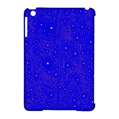 Awesome Allover Stars 01f Apple Ipad Mini Hardshell Case (compatible With Smart Cover) by MoreColorsinLife
