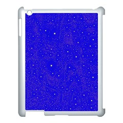 Awesome Allover Stars 01f Apple Ipad 3/4 Case (white) by MoreColorsinLife