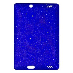 Awesome Allover Stars 01f Amazon Kindle Fire Hd (2013) Hardshell Case by MoreColorsinLife