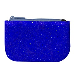 Awesome Allover Stars 01f Large Coin Purse by MoreColorsinLife