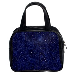 Awesome Allover Stars 01b Classic Handbags (2 Sides) by MoreColorsinLife