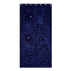 Awesome Allover Stars 01b Shower Curtain 36  X 72  (stall)  by MoreColorsinLife