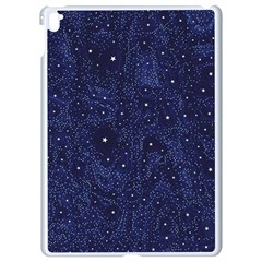 Awesome Allover Stars 01b Apple Ipad Pro 9 7   White Seamless Case by MoreColorsinLife