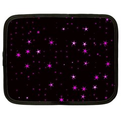 Awesome Allover Stars 02d Netbook Case (large) by MoreColorsinLife