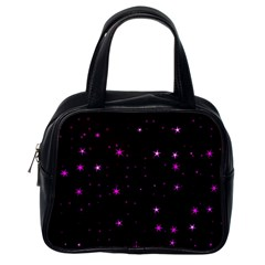 Awesome Allover Stars 02d Classic Handbags (One Side)