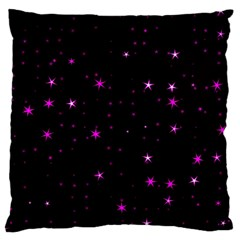Awesome Allover Stars 02d Large Cushion Case (one Side) by MoreColorsinLife