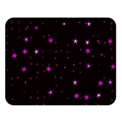 Awesome Allover Stars 02d Double Sided Flano Blanket (large)  by MoreColorsinLife
