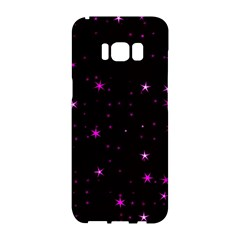 Awesome Allover Stars 02d Samsung Galaxy S8 Hardshell Case  by MoreColorsinLife