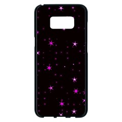 Awesome Allover Stars 02d Samsung Galaxy S8 Plus Black Seamless Case by MoreColorsinLife