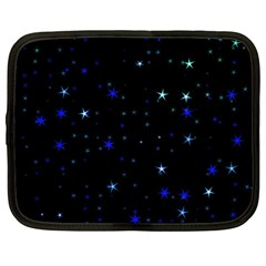 Awesome Allover Stars 02 Netbook Case (large) by MoreColorsinLife