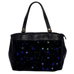 Awesome Allover Stars 02 Office Handbags (2 Sides)  by MoreColorsinLife