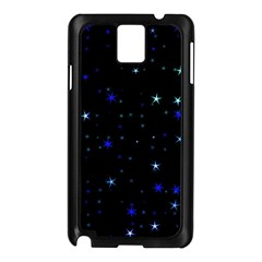 Awesome Allover Stars 02 Samsung Galaxy Note 3 N9005 Case (black) by MoreColorsinLife