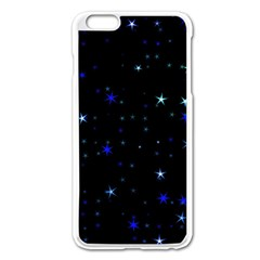 Awesome Allover Stars 02 Apple Iphone 6 Plus/6s Plus Enamel White Case by MoreColorsinLife