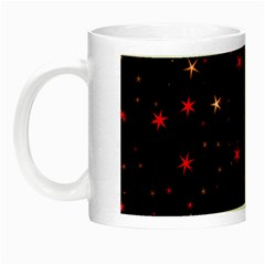 Awesome Allover Stars 02b Night Luminous Mugs by MoreColorsinLife