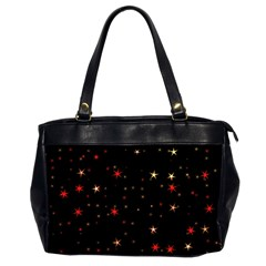 Awesome Allover Stars 02b Office Handbags (2 Sides)  by MoreColorsinLife