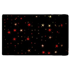 Awesome Allover Stars 02b Apple Ipad Pro 9 7   Flip Case by MoreColorsinLife
