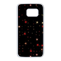 Awesome Allover Stars 02b Samsung Galaxy S7 White Seamless Case by MoreColorsinLife