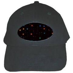 Awesome Allover Stars 02e Black Cap
