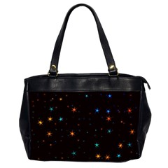 Awesome Allover Stars 02e Office Handbags (2 Sides)  by MoreColorsinLife