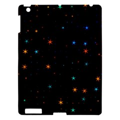 Awesome Allover Stars 02e Apple Ipad 3/4 Hardshell Case by MoreColorsinLife