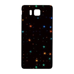 Awesome Allover Stars 02e Samsung Galaxy Alpha Hardshell Back Case by MoreColorsinLife