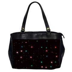 Awesome Allover Stars 02f Office Handbags (2 Sides)  by MoreColorsinLife