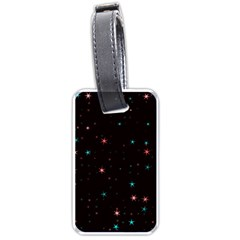 Awesome Allover Stars 02f Luggage Tags (two Sides) by MoreColorsinLife
